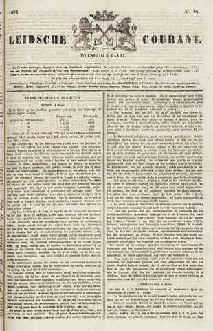 Leydse Courant 1873-03-05