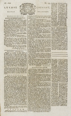Leydse Courant 1820-12-18