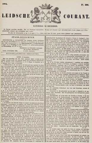 Leydse Courant 1884-12-20