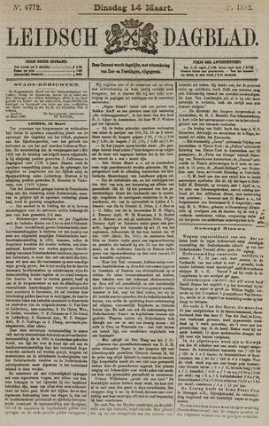 Leidsch Dagblad 1882-03-14