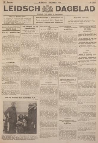 Leidsch Dagblad 1930-12-03