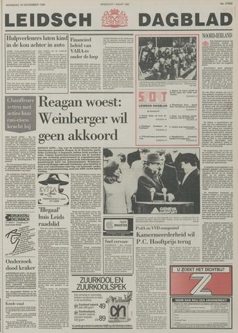 Leidsch Dagblad 1985-11-18