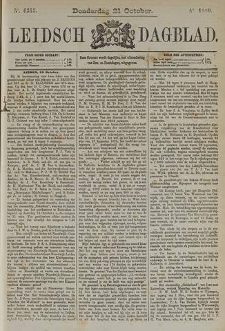 Leidsch Dagblad 1880-10-21