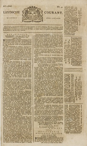 Leydse Courant 1826-01-09