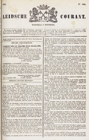 Leydse Courant 1876-11-08