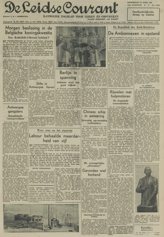 Leidse Courant 1950-04-27
