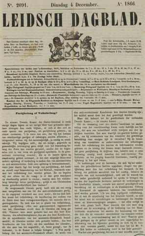 Leidsch Dagblad 1866-12-04