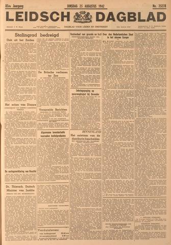Leidsch Dagblad 1942-08-25
