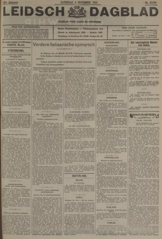Leidsch Dagblad 1935-11-09