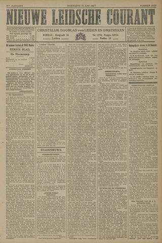 Nieuwe Leidsche Courant 1927-06-15