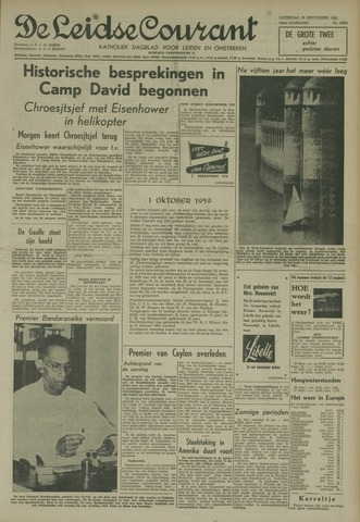 Leidse Courant 1959-09-26