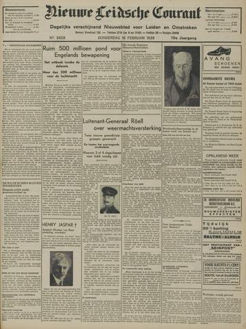 Nieuwe Leidsche Courant 1939-02-16