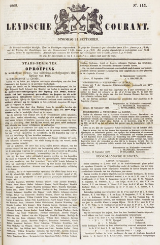 Leydse Courant 1869-09-14
