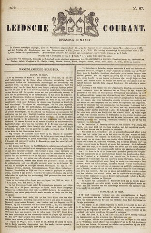 Leydse Courant 1872-03-19