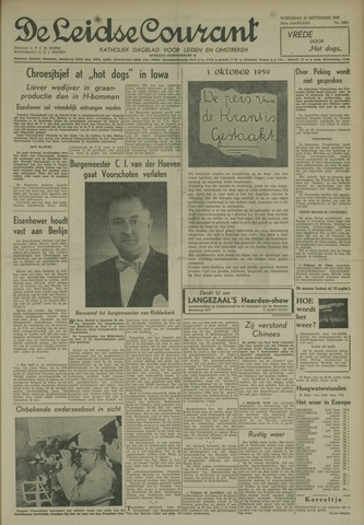 Leidse Courant 1959-09-23