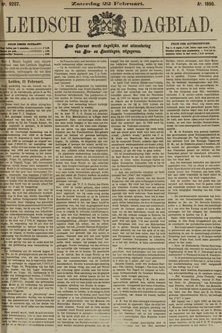 Leidsch Dagblad 1890-02-22