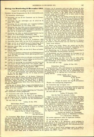 Handelingen van de Raad 1911-12-14