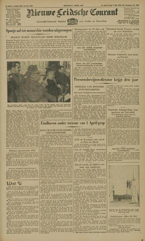 Nieuwe Leidsche Courant 1947-04-01
