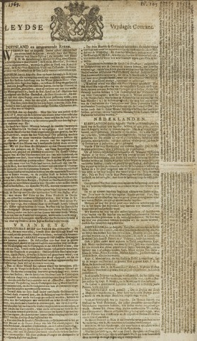 Leydse Courant 1769-09-01