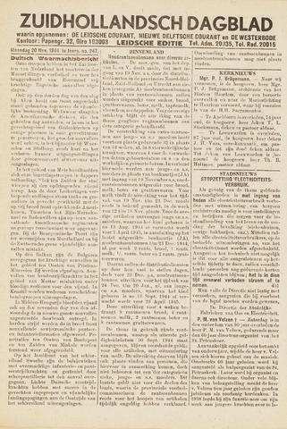 Zuidhollandsch Dagblad 1944-11-20