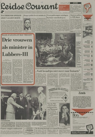 Leidse Courant 1989-11-03