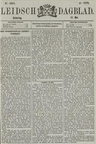Leidsch Dagblad 1876-05-13