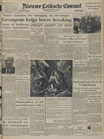 Nieuwe Leidsche Courant 1957-04-18