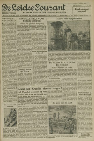 Leidse Courant 1952-10-07