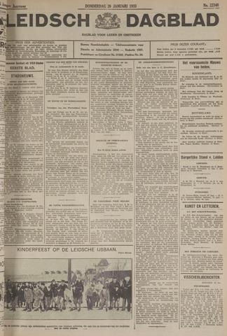 Leidsch Dagblad 1933-01-26