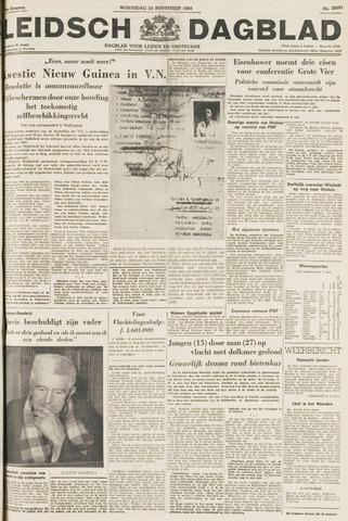 Leidsch Dagblad 1954-11-24