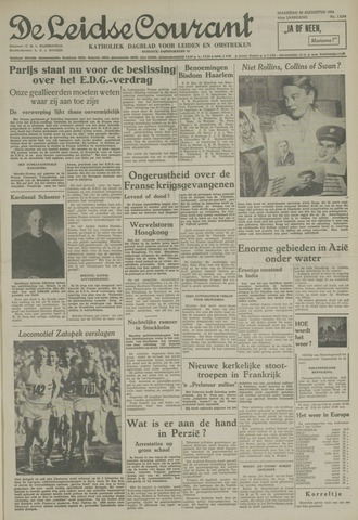 Leidse Courant 1954-08-30