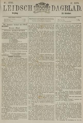 Leidsch Dagblad 1878-10-25