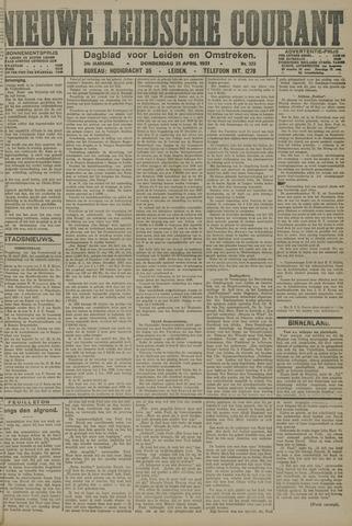 Nieuwe Leidsche Courant 1921-04-21