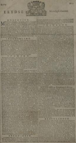 Leydse Courant 1729-01-03