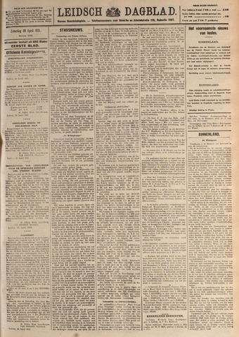 Leidsch Dagblad 1921-04-30