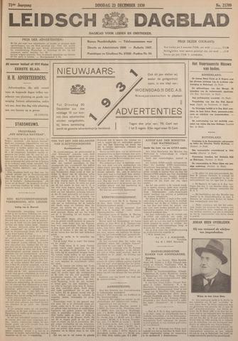 Leidsch Dagblad 1930-12-23