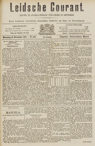 Leydse Courant 1887-11-28