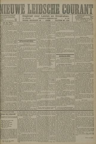 Nieuwe Leidsche Courant 1921-02-11