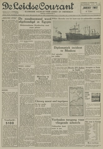 Leidse Courant 1954-10-28