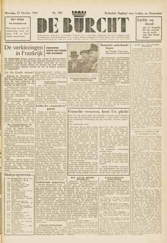 De Burcht 1945-10-22