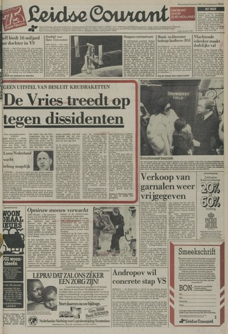 Leidse Courant 1984-01-25