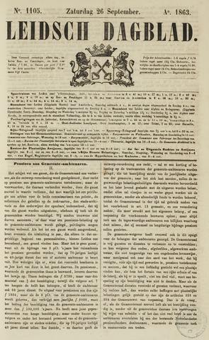 Leidsch Dagblad 1863-09-26
