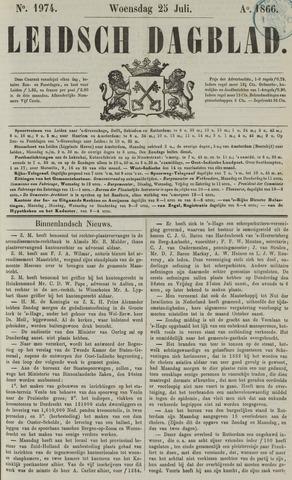 Leidsch Dagblad 1866-07-25