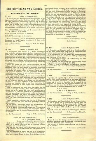Handelingen van de Raad 1911-09-18