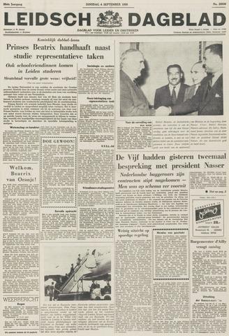 Leidsch Dagblad 1956-09-04