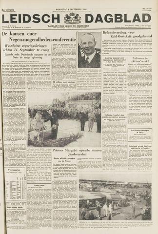 Leidsch Dagblad 1954-09-08