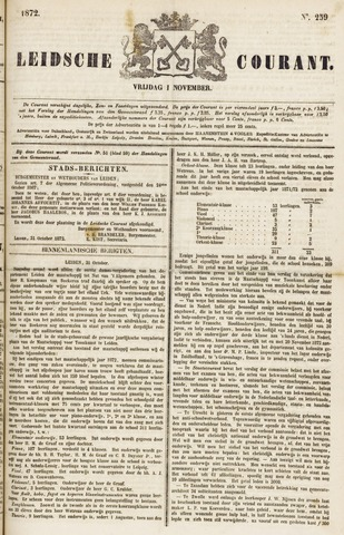 Leydse Courant 1872-11-01