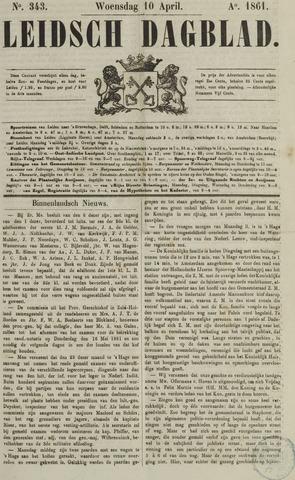 Leidsch Dagblad 1861-04-10