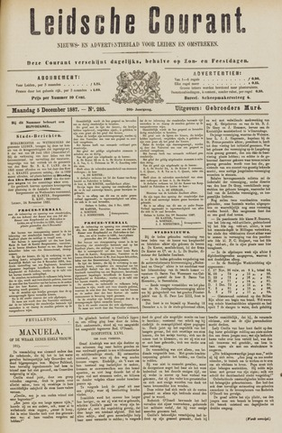 Leydse Courant 1887-12-05