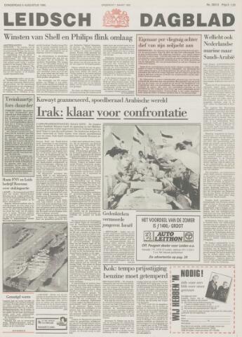 Leidsch Dagblad 1990-08-09